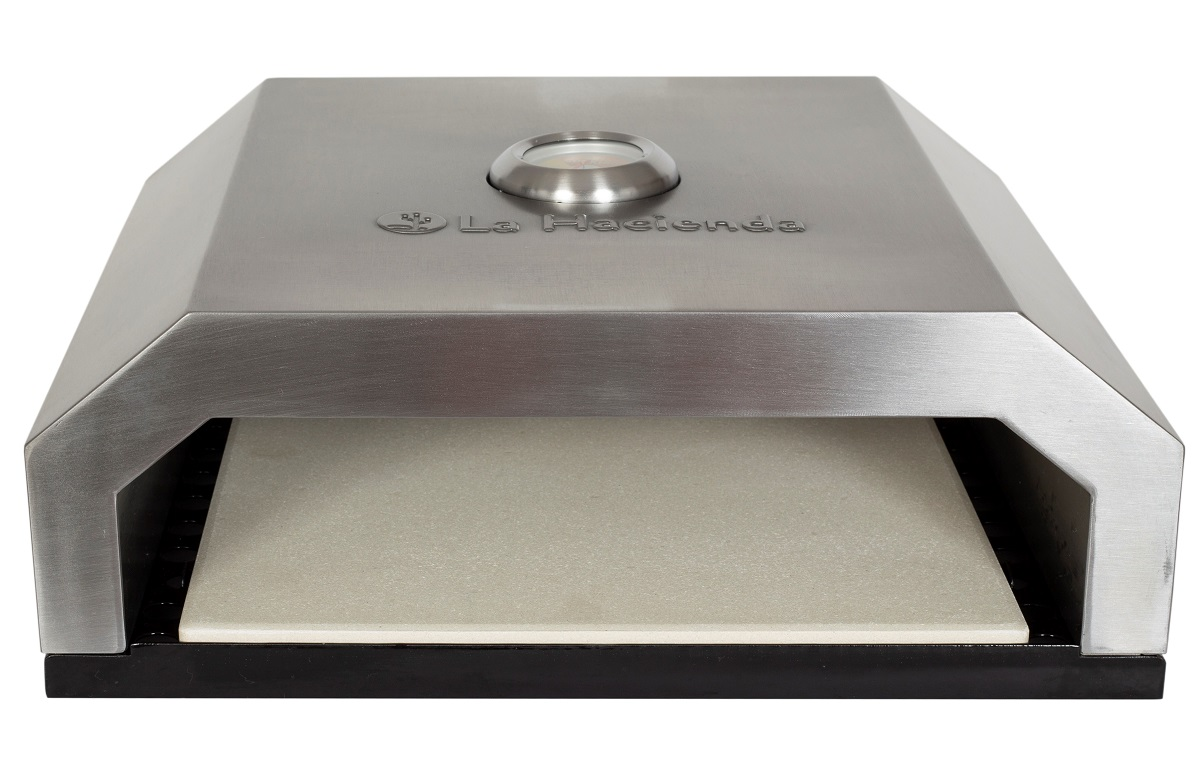 BBQ Pizza Oven Stainless Steel | La Hacienda