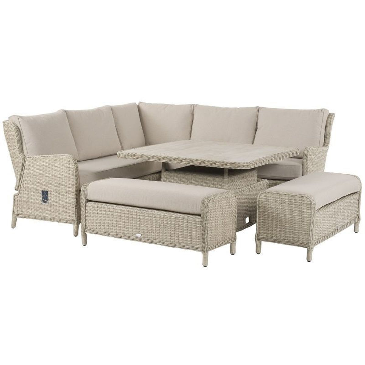 Bramblecrest Chedworth Reclining Modular Dining Set | Local Delivery Only