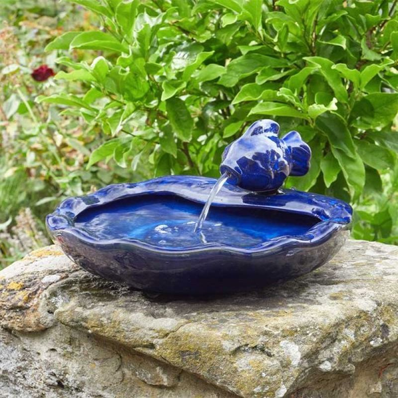 Ceramic Fish - Smart Garden Solar Water Feature