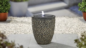 Cobble Stone inc LEDs - Kelkay Water Feature