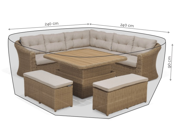 LifestyleGarden Casual Corner Set Cover