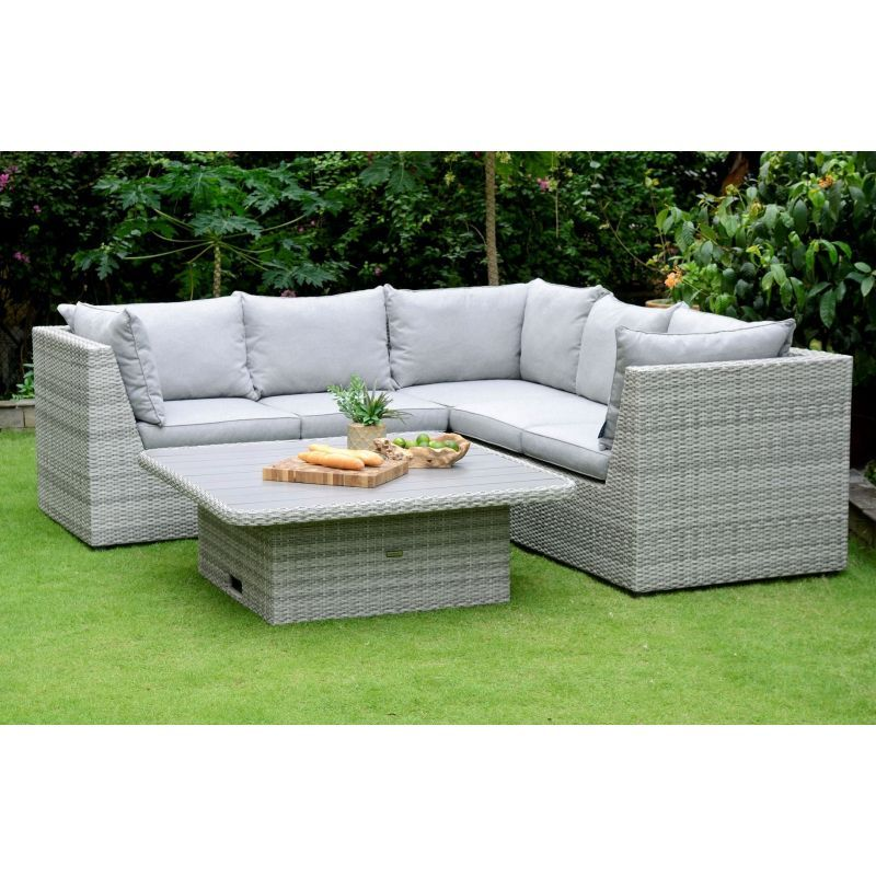LifestyleGarden Aruba Casual Corner Set | Local Delivery Only