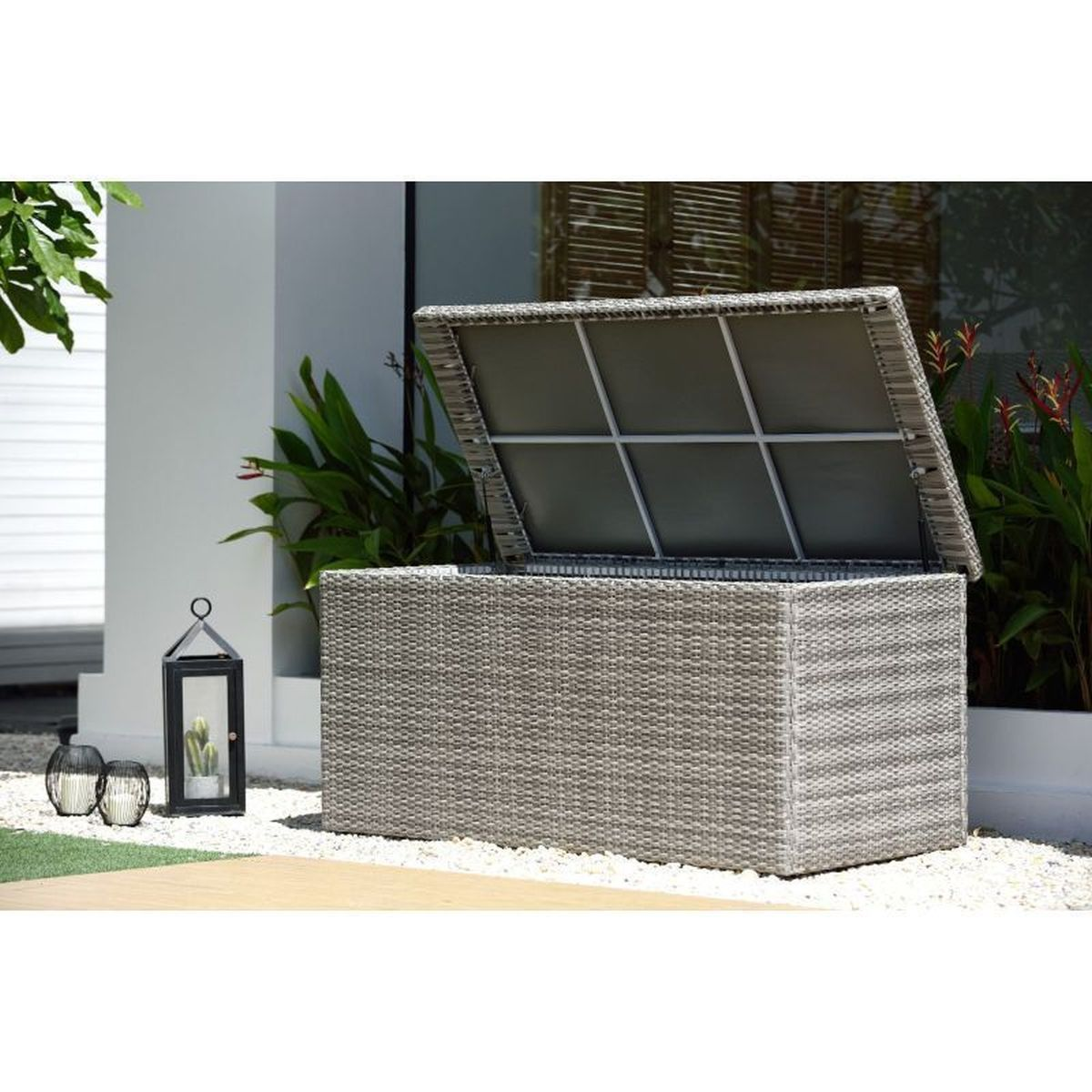 LifestyleGarden Aruba Cushion Box | Local Delivery Only