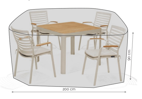 LifestyleGarden Cover - 4 Seat Set