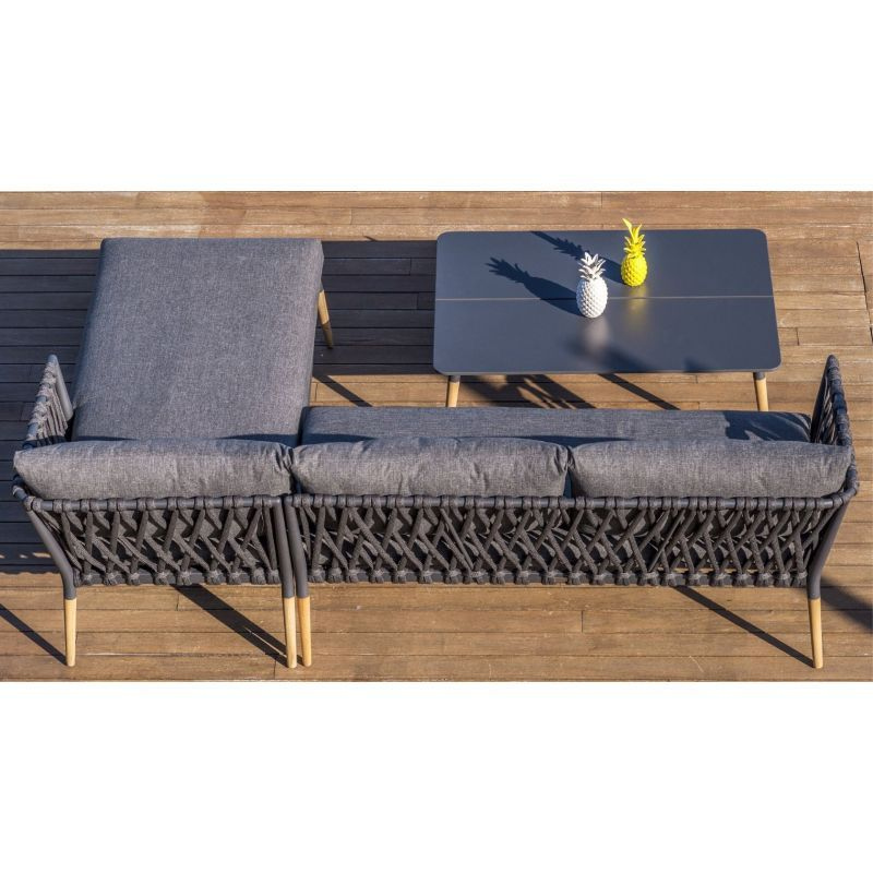LifestyleGarden Ipanema Chaise Lounge Set | Local Delivery Only