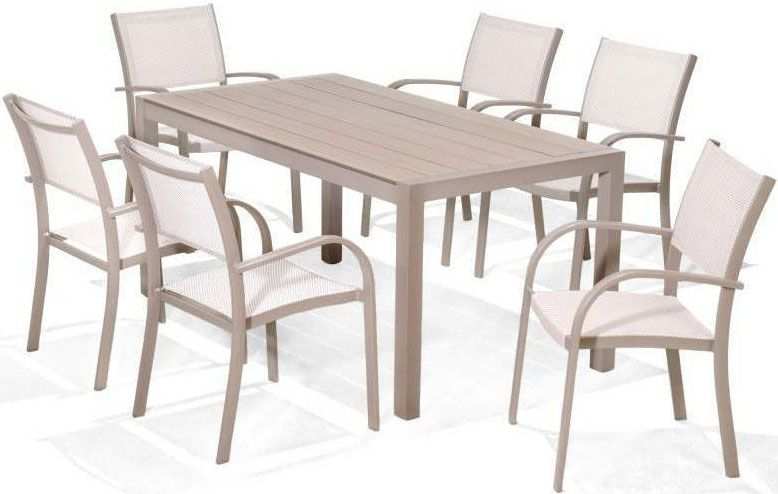LifestyleGarden Morella 6 Seat (Stackable) Dining Set