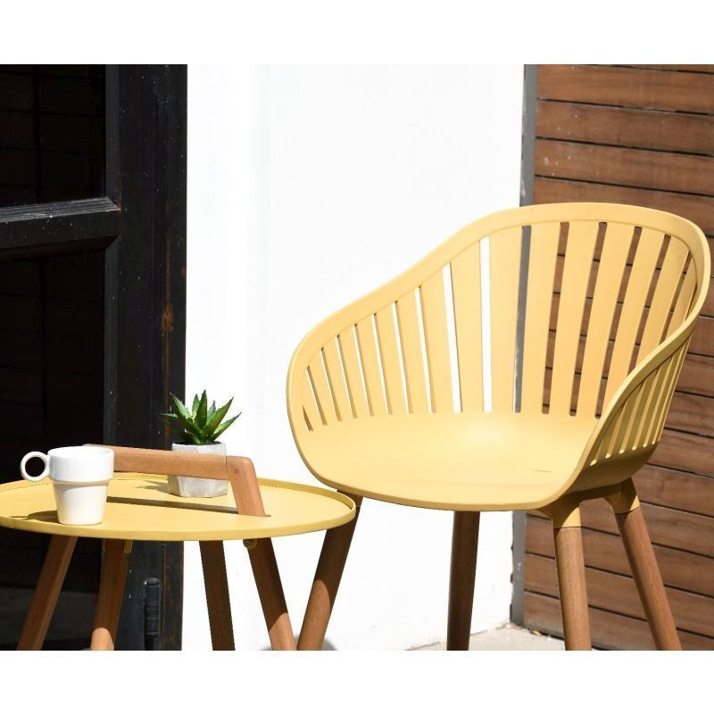 LifestyleGarden Nassau Bistro Set - Honey