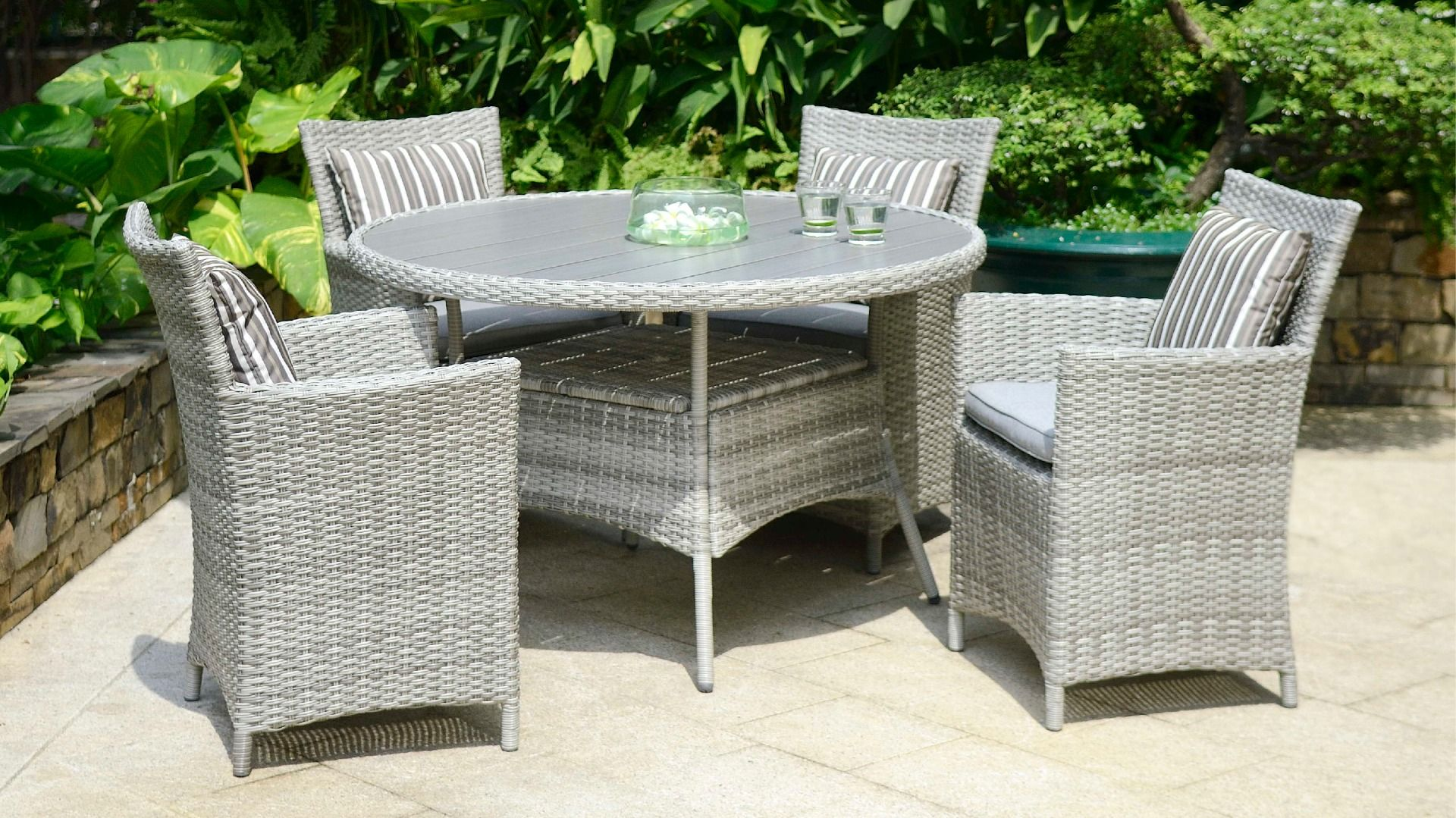 LifestyleGarden Aruba 4 Seat Set