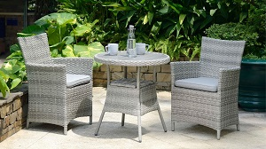 LifestyleGarden Aruba Bistro Set | Local Delivery Only