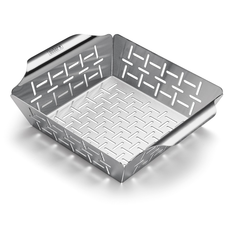 Weber Small Deluxe Grilling Basket - Stainless Steel