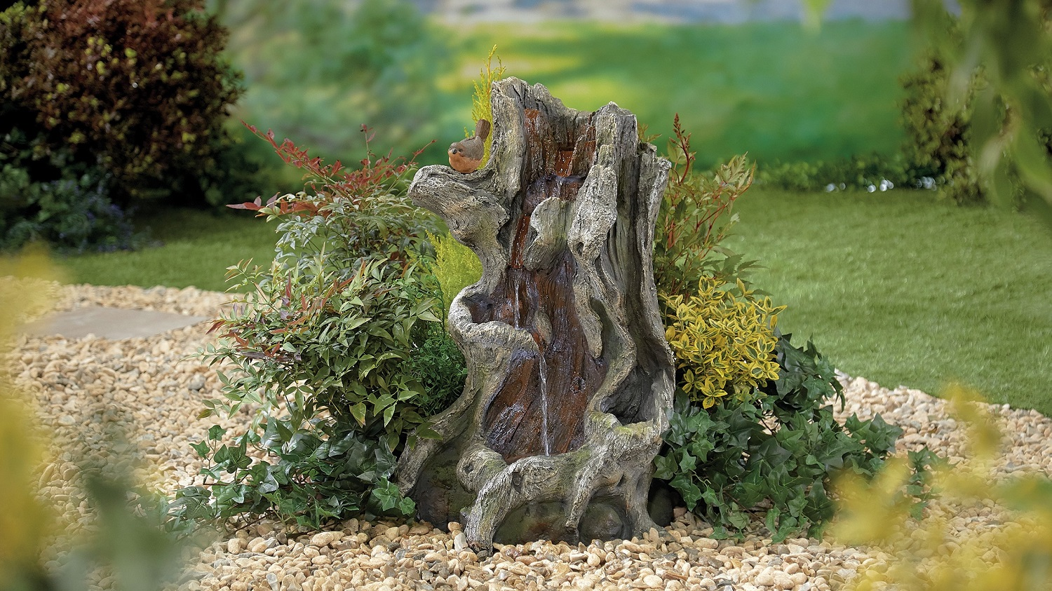 Willow Spills inc LEDs - Kelkay Water Feature